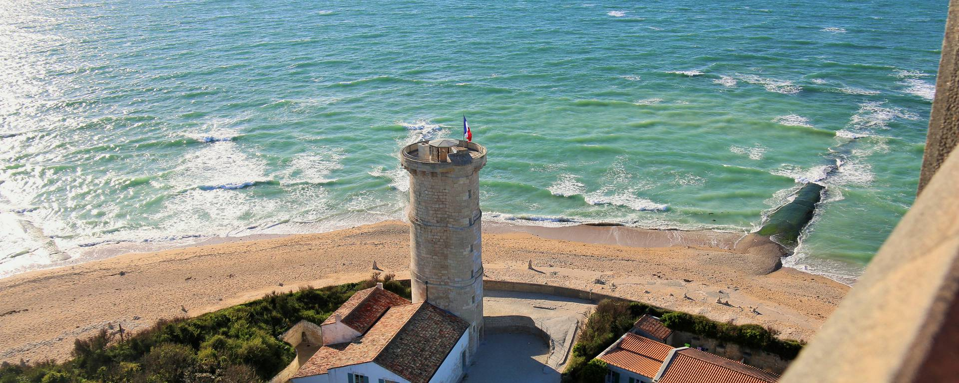 Le phare des Baleines, Tour Vauban par Lesley Williamson