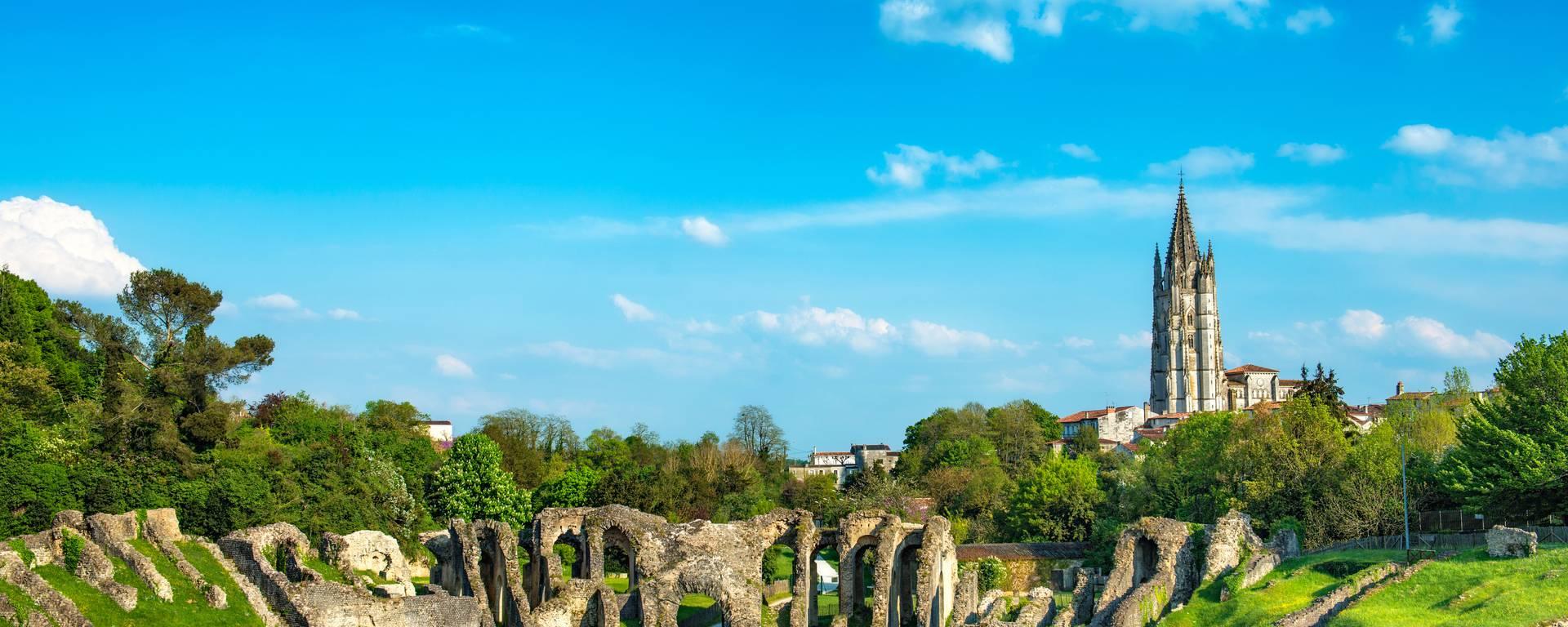 l'amphithéâtre Romain de Saintes