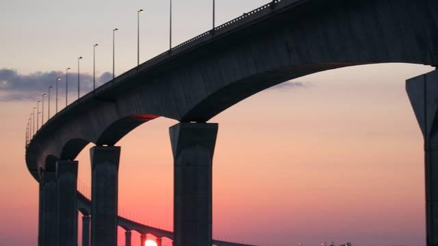 Die Brücke der Ile de Ré