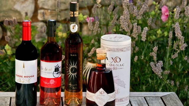 Wein und Pineau