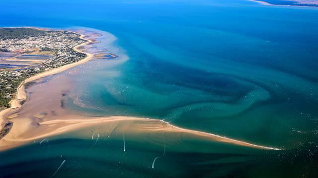 Die Insel Ré vom Himmel aus gesehen von Les Vols de Max
