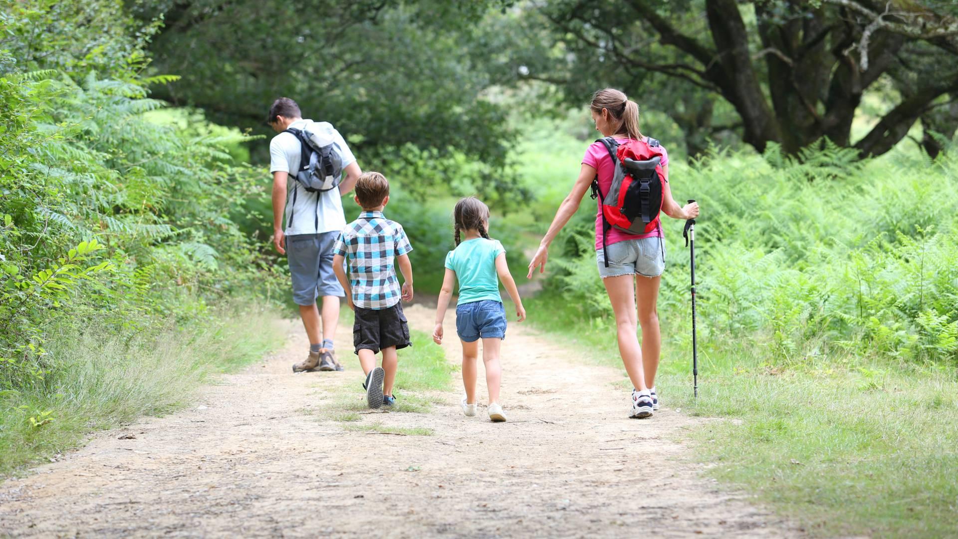 Les randonnées pédestres en famille sur l'Ile de Ré