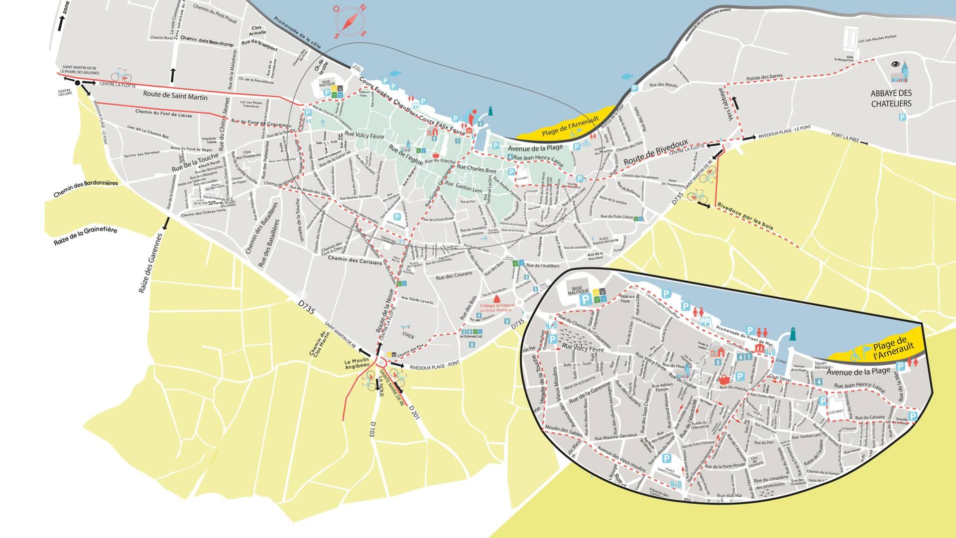 Plan Ile de Ré, Flottendorf