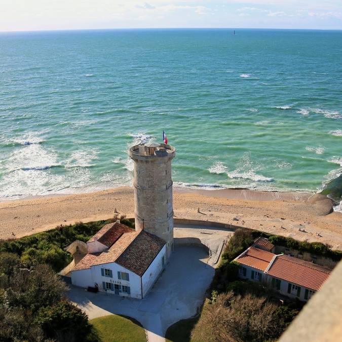 Vue du haut du phare ©Lesley Williamson